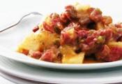 Caribeu (Carne seca com mandioca)