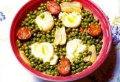 Ervilhas Com Ovos