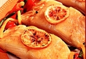 Bacalhau com limão siciliano