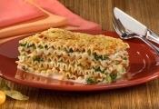Lasanha Vegetariana ao Creme de Queijos