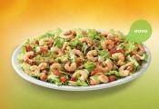Salada de Camarão com Ervilha