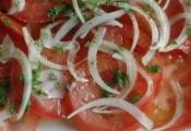 Salada de Tomate com Cebola