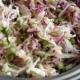 Salada de Repolho Verde e Roxo